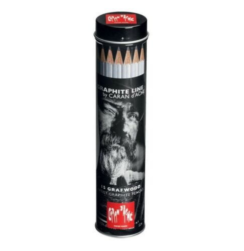 Tubo metallico della linea Graphite con 15 matite