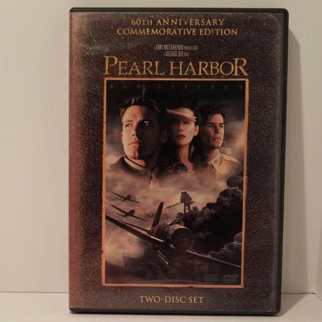 Pearl Harbor 60th Anniversary Commemorative Edition 2 DVD Jerry Bruckheimer