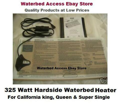 Waterbed Heater for California king queen /& super single hardside water beds