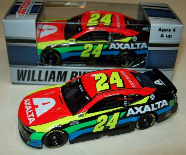 William Byron 2021 Axalta #24 Hendrick Chevy Camaro ZL1 1/64 NASCAR Diecast