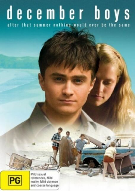 December Boys - Daniel Radcliffe (DVD) Region 4 Very Good Condition