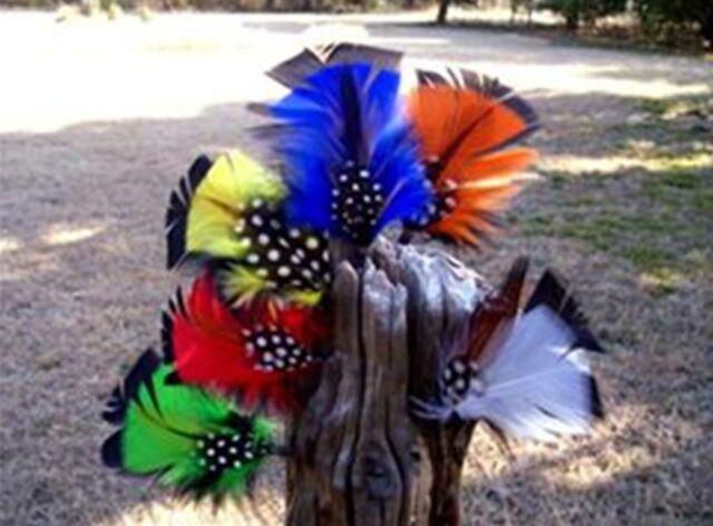 Hat FEATHERS 3 Pack, Top Hat, Fedora, Homburg, Bowler Derby, Western Cowboy Hat