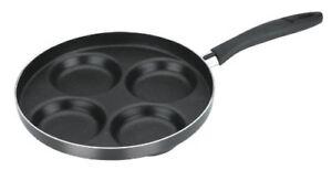 Tescoma 594244 Presto Padella con 4 Cerchi per Pancake diametro 24 cm (e4d)