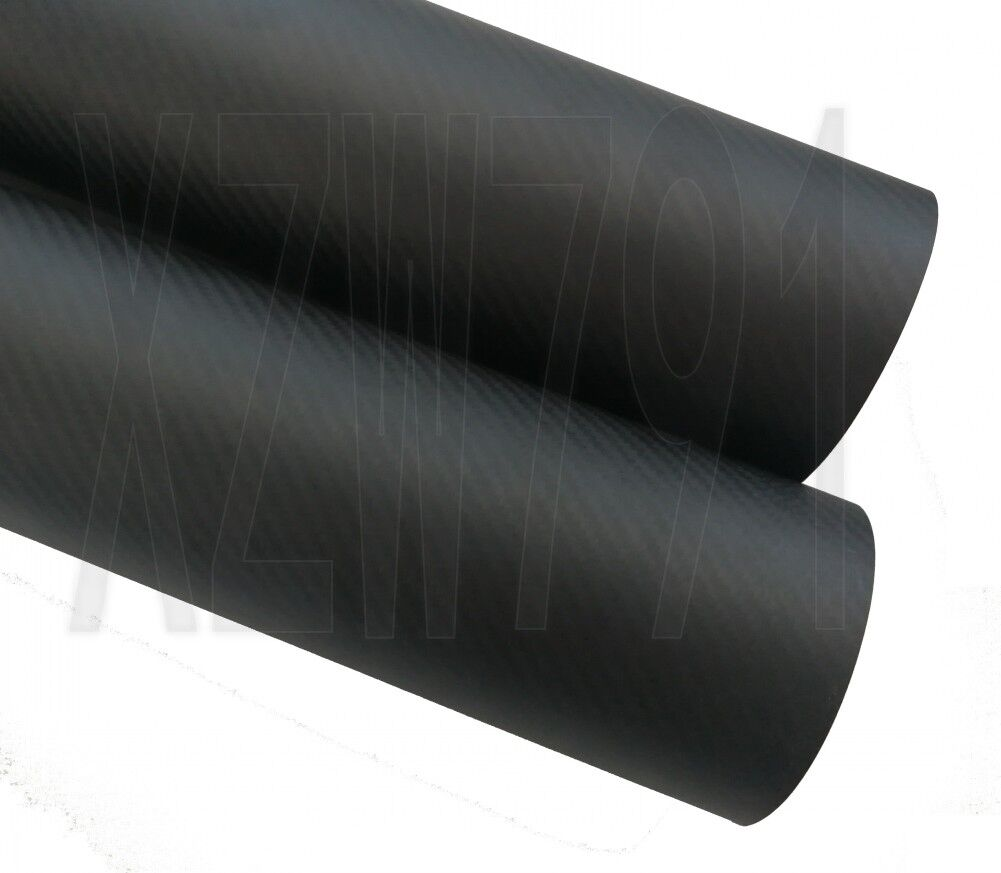 114MM OD x 110MM ID autobon Fiber Tube 3k 500MM  lungo (Roll Wrapped) autobon pipe  sconto