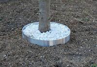 Beeteinfassung Edelstahl 1,0 Mm Baum Beet Einfassung Leichte Ausführung Neu