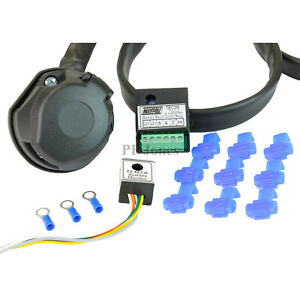 Peachy Universal 13 Pin Towing Electrics Towbar Wiring Kit Ebay Wiring Cloud Strefoxcilixyz