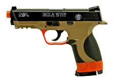 Licensed S&W Smith & Wesson M&P40 Scale Spring Airsoft Hand Gun Pistol +1000 BBs