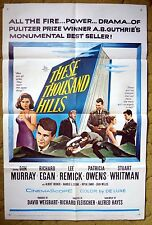 """""""THESE THOUSAND HILLS"""" A Cowboy stops at Nothing to Get What He Wants -  poster"""