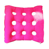 Health Care Air Inflatable Waffle Seat Cushion For Home Office Car Chair + Pump