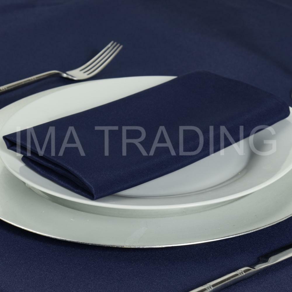 NAVY RECTANGULAR RECTANGULAR RECTANGULAR TABLECLOTH POLYESTER TABLE CLOTH VARIOUS GrößeS 8d2b32