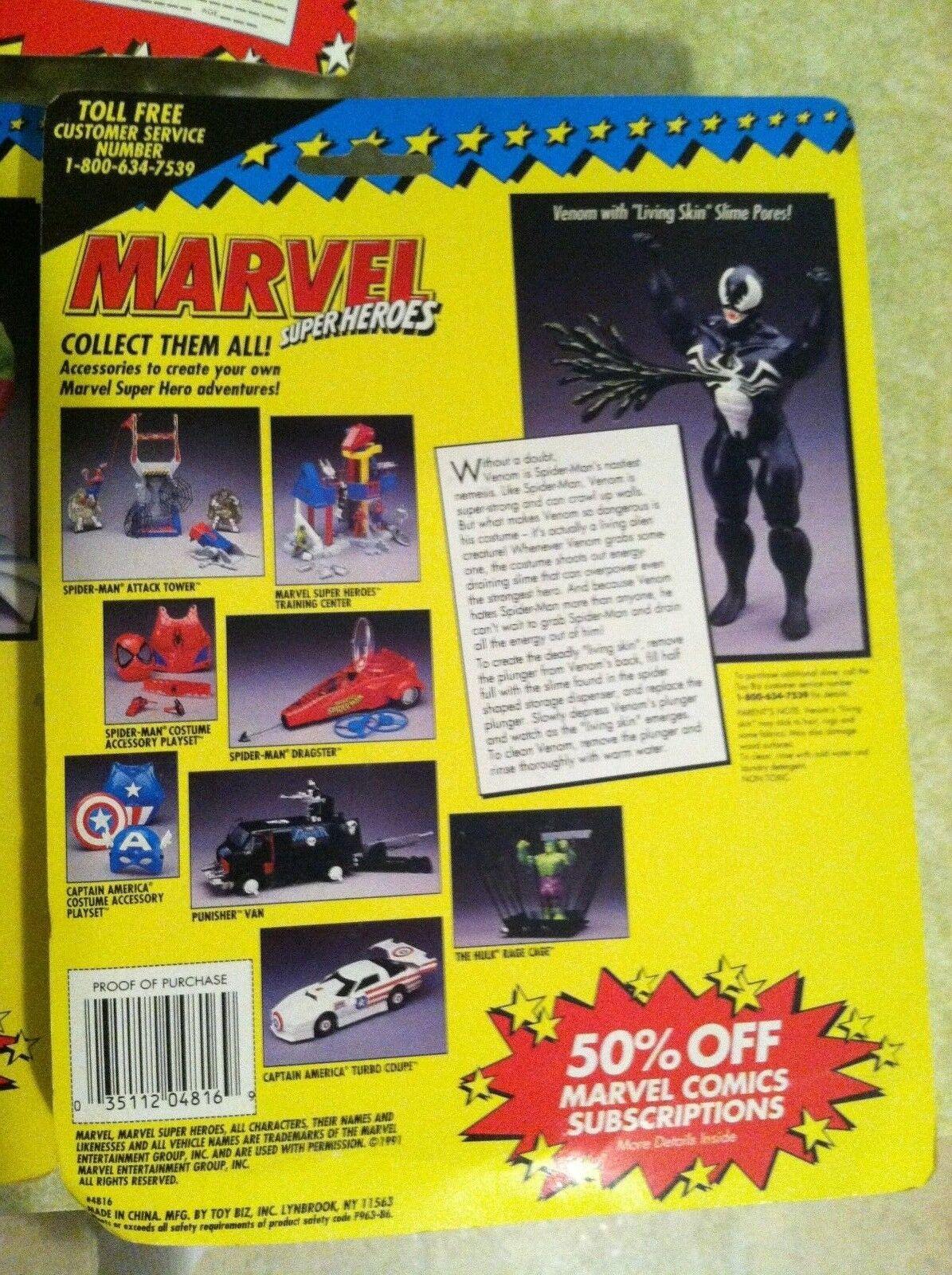 TOY BIZ new MARVEL heros heros heros (set of 5) spiderman green goblin venom deathlok x men f667bb