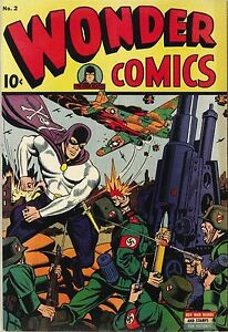 Wonder Comics #2 Photocopy Comic Book, The Grim Reaper