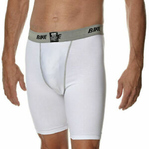 BIKE BAC037 IR ADULT COMBO BOXER AND PRO-EDITION CUP WHITE LARGE