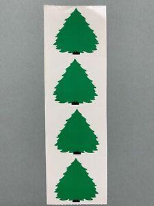 Strip of RETIRED MINI SANTA Stickers/' Mrs Grossman SANTA AND THINGS