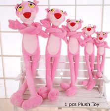 Pink Panther Cartoon Leopard Soft Dolls Stuffed Animal Plush Toy Kids Gift 60cm