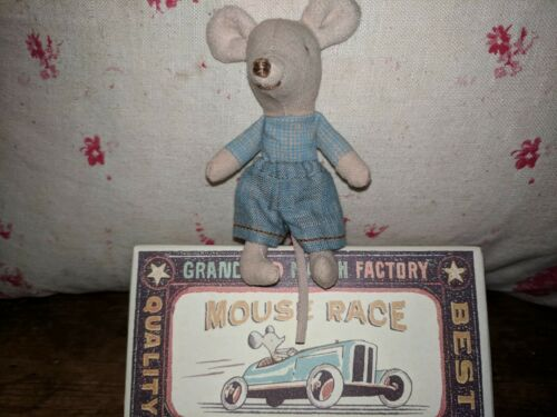 Maileg Little Brother Racer Mouse