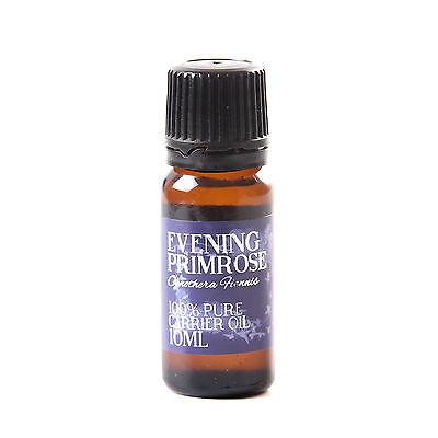 Mystic Moments | Evening Primrose Carrier Oil  - 100% Pure - 10ml (OV10EVENPRIM)