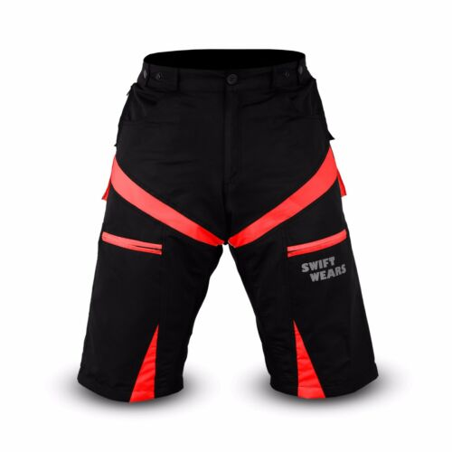 MTB Cycling Shorts Off Road Cycle CoolMax Padded Liner Short NEW Size M L XL