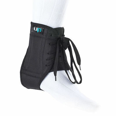 Schnelle Lieferung Football Ankle Brace Black White Lightweight Breathable Football Running Sports