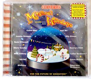 NEW-Believe-034-Magical-Holidays-034-Vol-III-CD-Celine-Marc-Destiny-Gloria-NSYNC-NIP