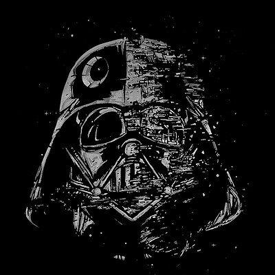 STAR WARS Lord Darth Vader Galaxy Men/'s T-SHIRT yoda r2d2 novelty fun tee S-XL