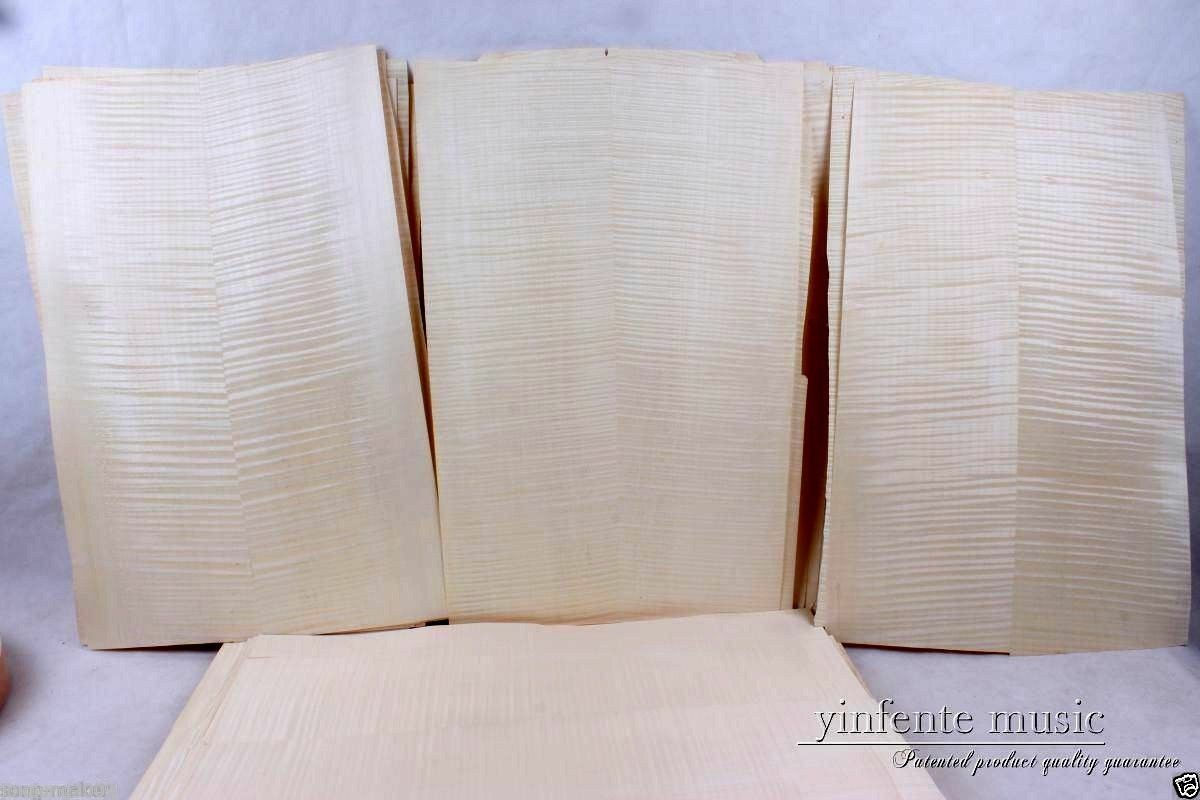 10x Gitarre Veneer Gitarrenkörper Veneerot flame maple guitar parts High Quality