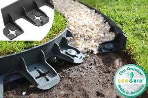 Image Is Loading Flexible Garden Edging Border Green Black Tidy Edge