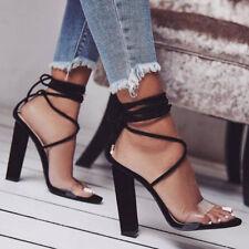 Women's Tamaris Virani Rounded Toe Lace up Shoes in Black UK