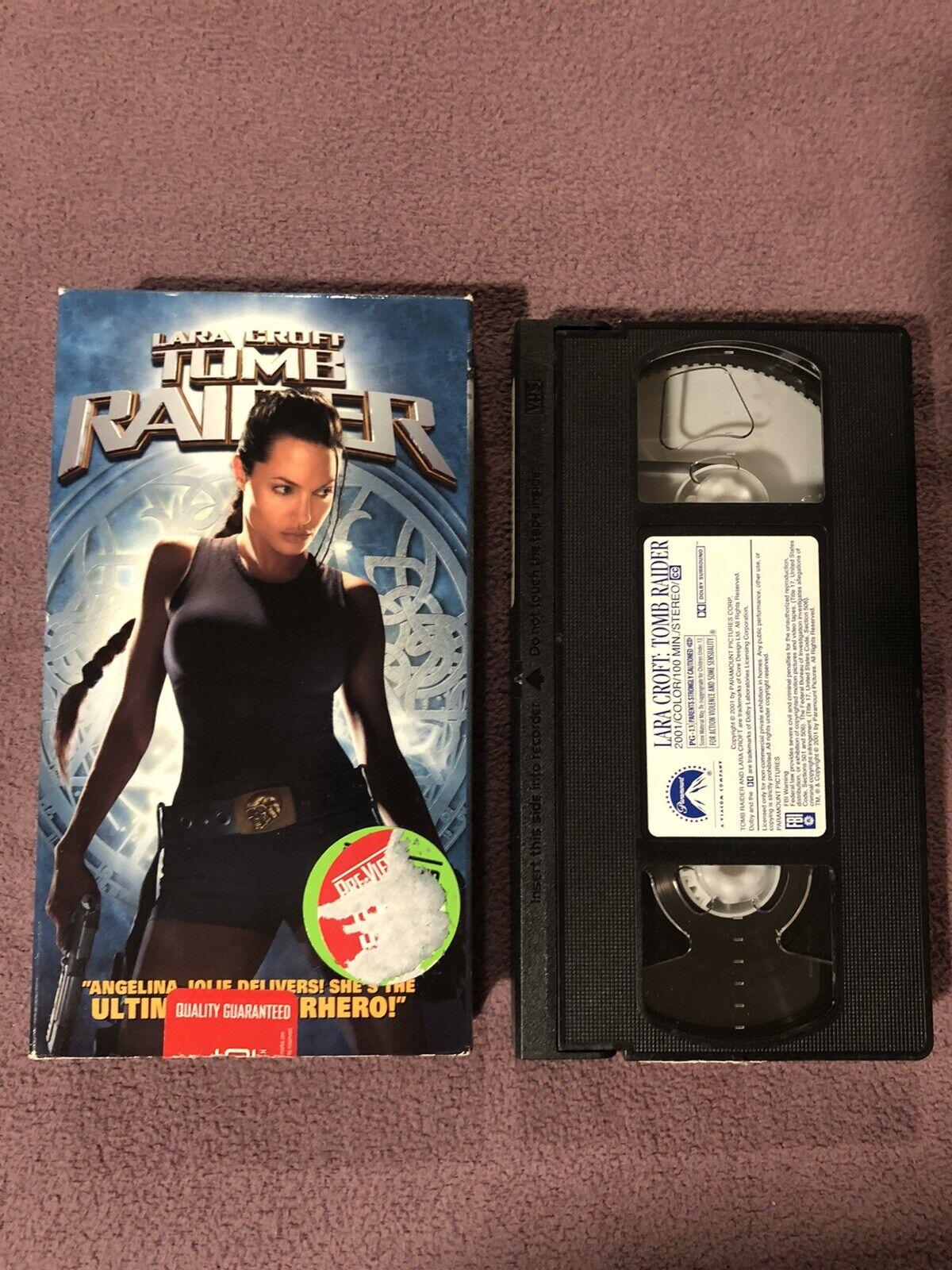 Lara Croft Tomb Raider Vhs 2001 For Sale Online Ebay