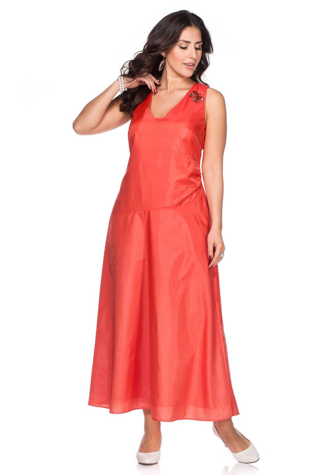 Details zu Elegantes Abend-Kleid sheego Style. Koralle. NEU!!! KP 11,11 €  SALE%%%