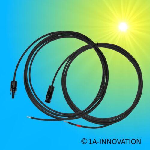 Solarkabel 4mm² MC4 Stecker 1m 2m 3m 5m 10m 20m Kabel gekrimpt Solarmodul
