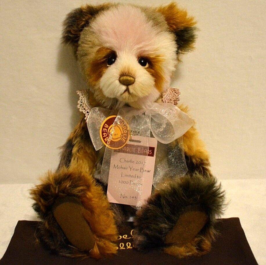 Charlie Bear Mohair 2017 Bear Of The Year 15