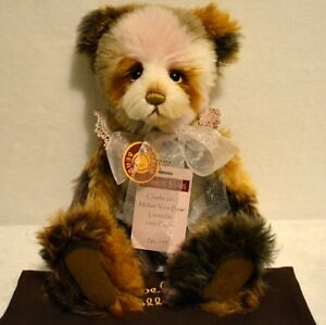 "Bears Purposeful Charlie Bear Mohair 2017 Bear Of The Year 15"" Fashionable Patterns Artist"