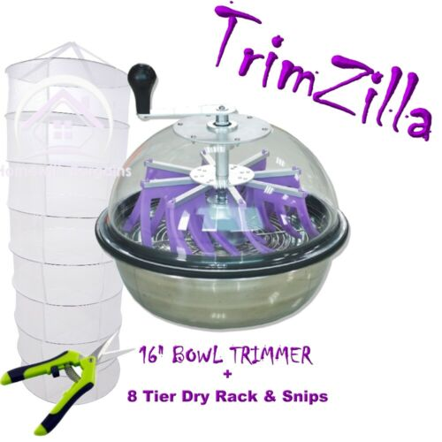 "TRIMZILLA Bud Leaf Trimming Bowl Machine Electric Table Trimmer 16/"" 18/"" HYDRO"