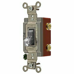 HUBBELL-HBL1221PLC-Wall-Switch-Single-Pole-20A-120-277VAC-Clear-Togggle