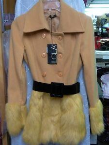 Nouveau yellow Ladies Nouveau Nouveau Lola yellow Coat Coat Ladies Lola tfS1wf
