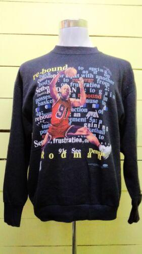 Vintage 1997 Dennis Rodman Basketball Big Logo Swe
