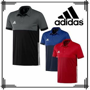 7068cfd7f La imagen se está cargando Adidas-3-Rayas-Camisa-Polo-para-hombre-deportivo-