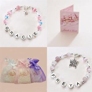 Personnalisé Bijouterie Pour Filles, Bracelets Avec Noms, Couleur & Charme Choix Deaofp8z-08000050-763803542