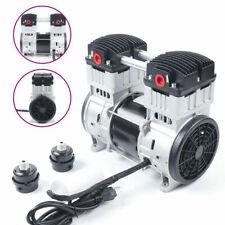 200lmin Electric Air Oilless Silent Diaphragm Vacuum Pumpsilencerfloor Mat Us