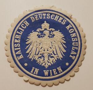 Siegelmarke-Vignette-KAISERLICH-DEUTSCHES-KONSULAT-IN-WIEN-9343-3