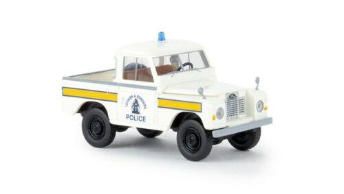 "Brekina 13864-1//87 Land Rover 88 Hardtop /""Police Scotland/"" di STARMADA-NUOVO"