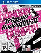 DanganRonpa: Trigger Happy Havoc [Sony PlayStation Vita PSV, Mystery Suspense]