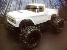 1966 Ford F-100 Custom Paint 4X4 PRO BRUSHLESS 1/10 RC Monster Truck Waterproof