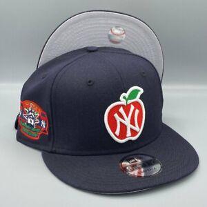 New York Yankees Big Apple & Subway Series 9FIFTY New Era Navy Snapback Hat