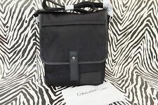 CALVIN KLEIN Med Body Bag CJ002 Black Jacquard Flight Shoulder Bags BNWT RRP£112