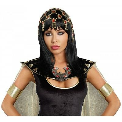 Egyptian Headpiece for Adult Cleopatra Costume Fancy Dress