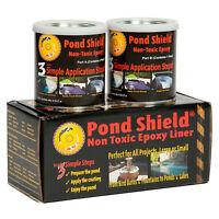 Pond Armor Pond Shield Non-toxic Epoxy Pond Liner & Sealer 1.5 Gallons Black