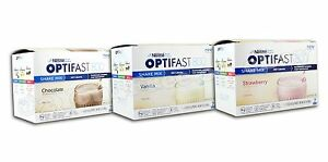 OPTIFAST® 800 POWDER SHAKES | 6 BOXES | ANY FLAVOR or VARIETY CHOICES