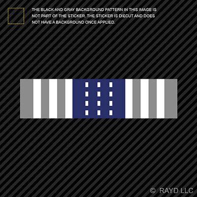 "4/"" Air Force Training Ribbon Sticker Self Adhesive Vinyl USAF 2x"